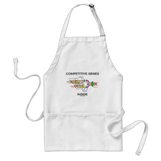 Competitive Genes Inside (DNA Replication) Adult Apron