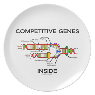 Competitive Genes Inside (DNA Replication) Dinner Plate