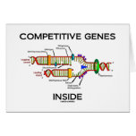 Competitive Genes Inside (DNA Replication) Greeting Card