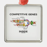 Competitive Genes Inside (DNA Replication) Christmas Tree Ornaments