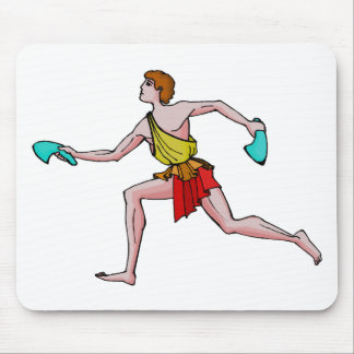 Competitor in the ancient Games Mousepad