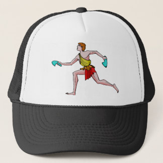 Competitor in the ancient Games Trucker Hat