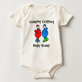 Comphy Critterz Belly Bump Baby Bodysuit