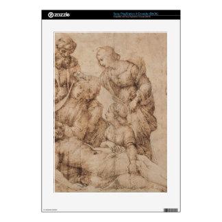 compianto del cristo by Raffaello Sanzio da Urbino Skin For The PS3