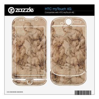 compianto del cristo by Raffaello Sanzio da Urbino Decal For HTC myTouch 4G