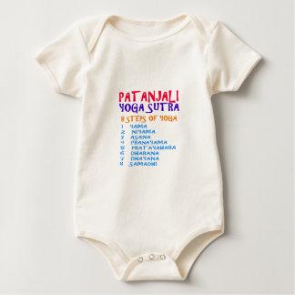 Compilación de Sutra de la yoga de las camisetas Mameluco De Bebé