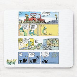 Compilación Mousepad del dibujo animado del pantan Tapete De Raton