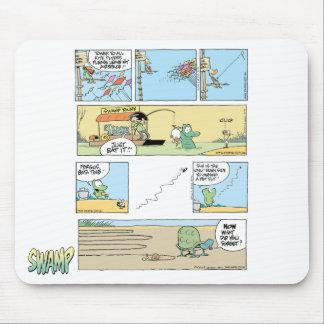 Compilación Mousepad del dibujo animado del pantan Tapetes De Raton