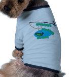 Compinche de la pesca de Grampy Camisa De Perrito