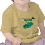 Compinche de la pesca de Mamaw Camisetas