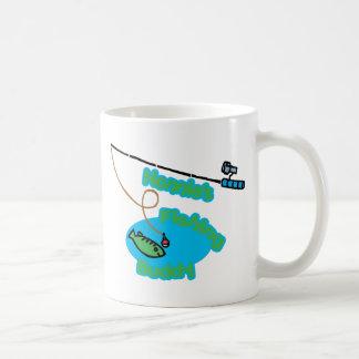Compinche de la pesca de Nonnie Taza De Café