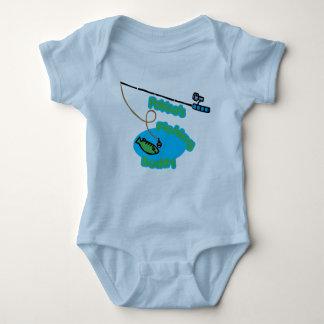 Compinche de la pesca de Pakke Body Para Bebé