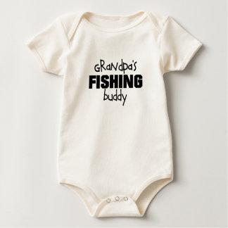 compinche de la pesca del abuelo traje de bebé