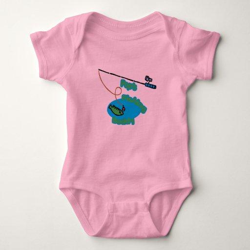 Compinche de la pesca del estallido mameluco de bebé