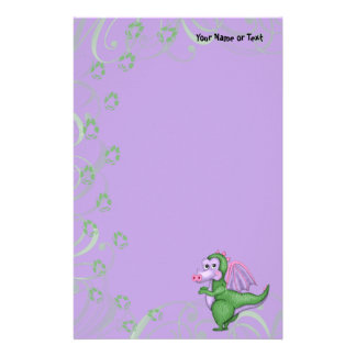 Compinche del dragón papeleria personalizada