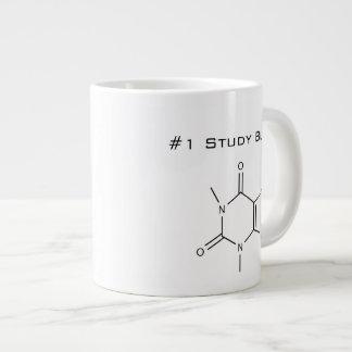 Compinche del estudio del cafeína #1 taza grande