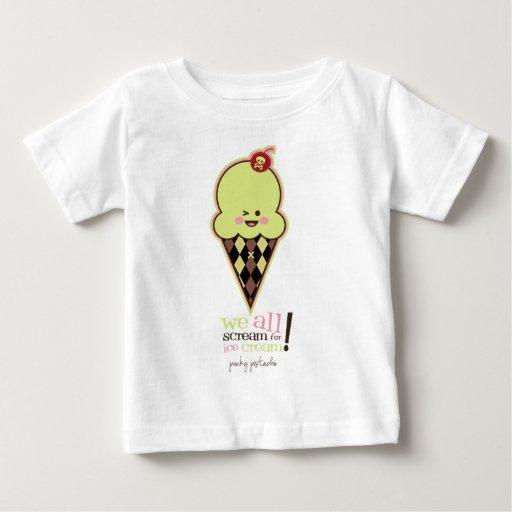 Compinche del helado de Kawaii Tshirts