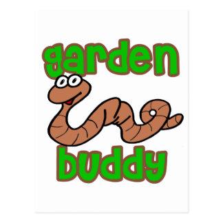 Compinche del jardín tarjetas postales