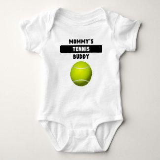 Compinche del tenis de la mamá playeras