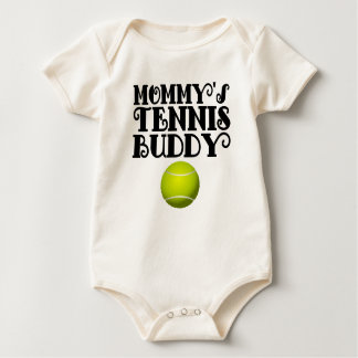Compinche del tenis de la mamá mamelucos