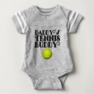 Compinche del tenis del papá playera