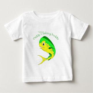 Compinche futuro de la pesca de Mahi Playera Para Bebé