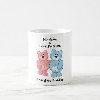 Compinches de la genealogía - osos taza de café