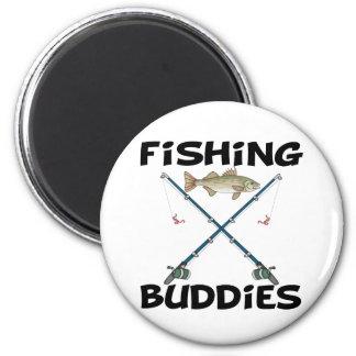 Compinches de la pesca imán redondo 5 cm
