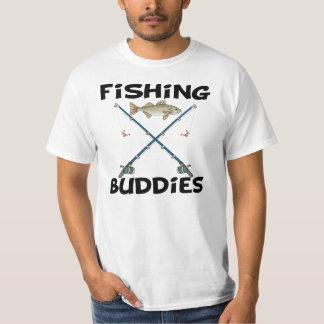 Compinches de la pesca playera