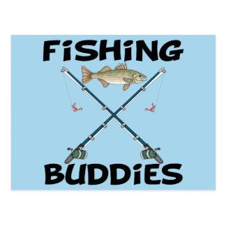 Compinches de la pesca postal