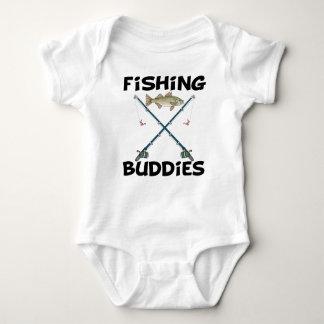 Compinches de la pesca remeras