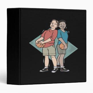"""Compinches del baloncesto carpeta 1 1/2"""""""