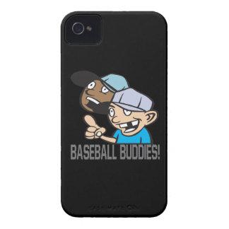 Compinches del béisbol iPhone 4 carcasas