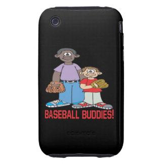 Compinches del béisbol iPhone 3 tough carcasa