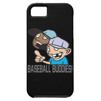 Compinches del béisbol iPhone 5 fundas
