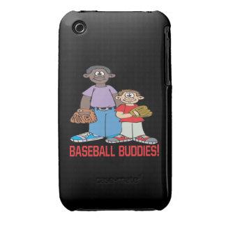 Compinches del béisbol Case-Mate iPhone 3 fundas