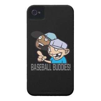 Compinches del béisbol iPhone 4 Case-Mate protector