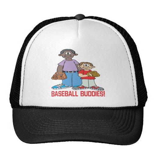 Compinches del béisbol gorro de camionero