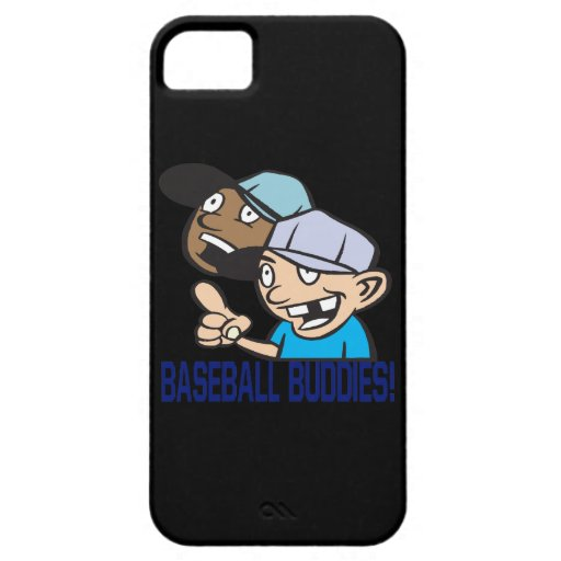 Compinches del béisbol iPhone 5 protectores