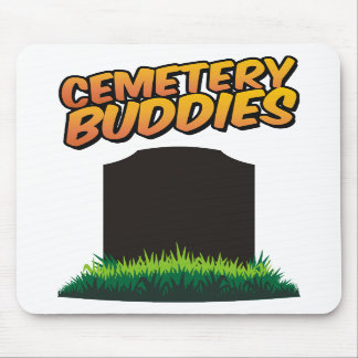 Compinches del cementerio alfombrilla de ratón
