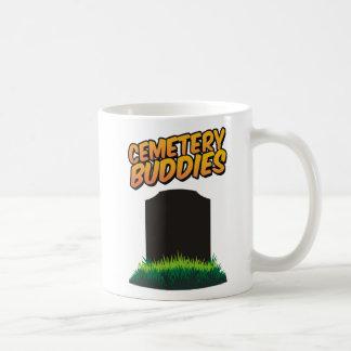 Compinches del cementerio tazas de café