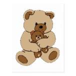 Compinches del oso de peluche tarjetas postales