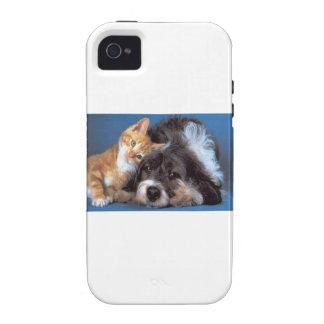 Compinches del Snuggle Case-Mate iPhone 4 Carcasas