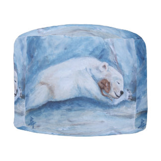 Compinches durmientes oso y ratón