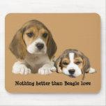 Compinches Mousepad del beagle Tapetes De Raton