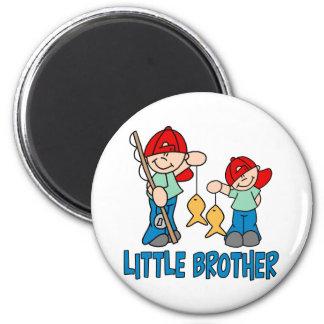 Compinches pequeño Brother de la pesca Imán Redondo 5 Cm