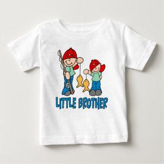 Compinches pequeño Brother de la pesca Playera