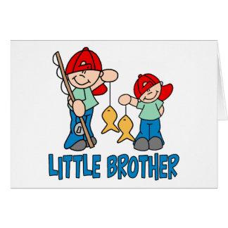 Compinches pequeño Brother de la pesca Felicitacion