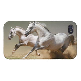 Compita con los caballos del viento iPhone 4 funda