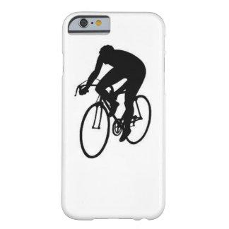"""""""Compitiendo con al ciclista """" Funda Barely There iPhone 6"""